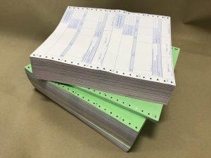 กระดาษต่อเนื่อง 5 ชั้น