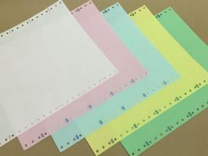 กระดาษต่อเนื่องเคมีในตัวแบบไม่มีพิมพ์1